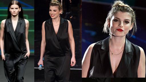 Emma Rock Chic a Sanremo