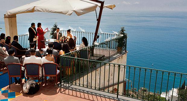 Matrimonio in Costiera: la nuova moda in USA e UK