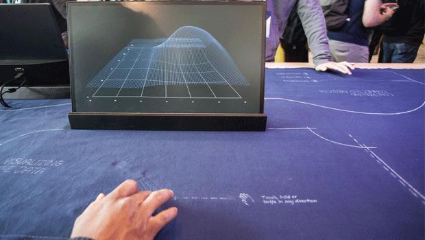 Google presenta i jeans touchscreen