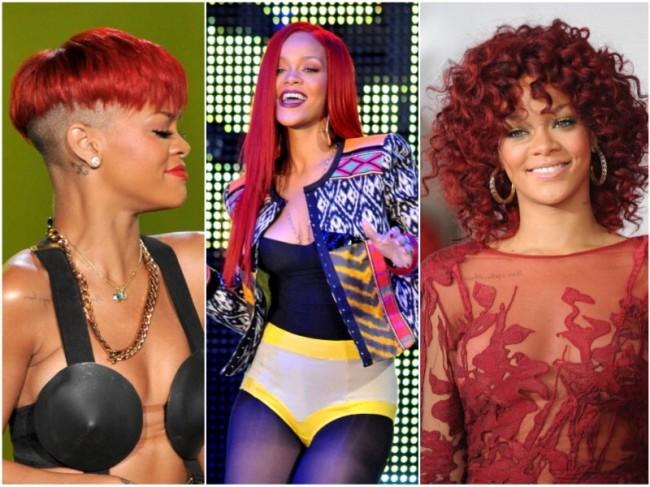 Rihanna-rossa